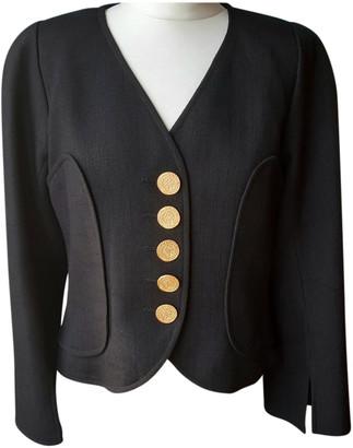 Christian Lacroix Black Wool Jackets