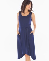 Soma Intimates Short Sleeveless Dress Navy