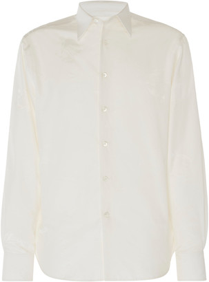 Lanvin Cotton-Silk Button-Up Shirt