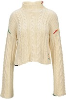 J.W.Anderson Cropped Cotton Cable Jumper