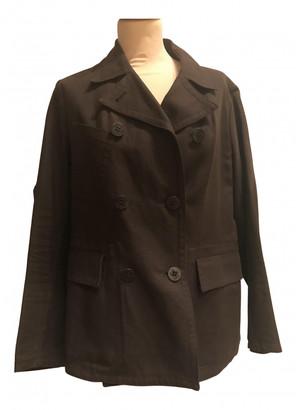 Moncler Brown Linen Jackets
