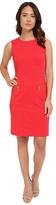 Christin Michaels Mia Zip Pocket Dress