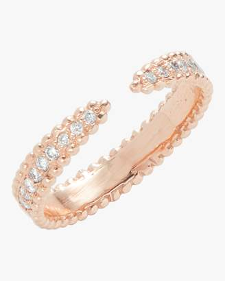 Sophie Ratner Pave Open Ring