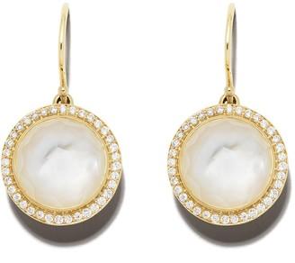 Ippolita 18kt yellow gold Lollipop Carnevale diamond earrings