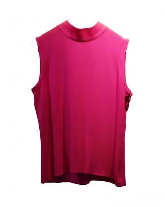 Saint Laurent Pink Cotton Top for Women Vintage