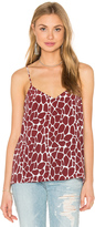 Equipment Layla Giraffe Print Cami