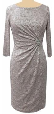 Jessica Howard Petite Embellished Lace Sheath Dress