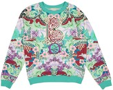 Mary Katrantzou Turquoise Cotton Knitwear for Women