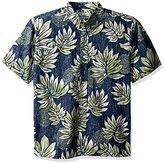 Reyn Spooner Men's Moamahiclassic Fit Button Front Floral Hawaiian Shirt