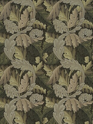 Morris & Co. Acanthus Embroidery Furnishing Fabric