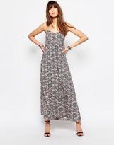 Only Swirl Print Maxi Dress