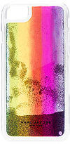 Marc Jacobs Glitter Rainbow iPhone 7 Case in Purple.