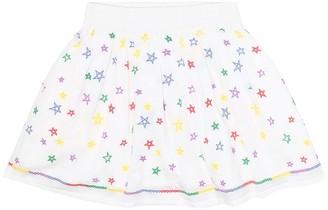 Stella McCartney Kids Embroidered cotton skirt