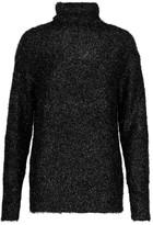 Tibi Gleam metallic bouclé-knit sweater
