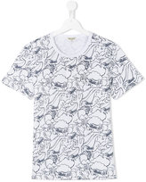 Kenzo cactus print T-shirt - kids - Cotton - 14 yrs