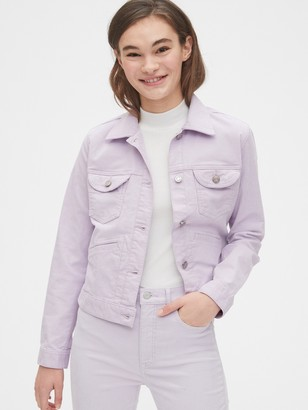 Gap Crop Icon Cord Jacket