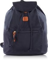 Bric's X-Travel Blue Nylon Backpack