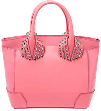 Christian Louboutin Pink Leather Small Eloise Satchel