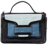 Pierre Hardy Denim Alpha Satchel