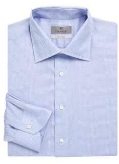 Canali Dot Cotton Dress Shirt