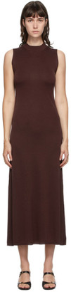 Studio Nicholson Burgundy Moteki Dress