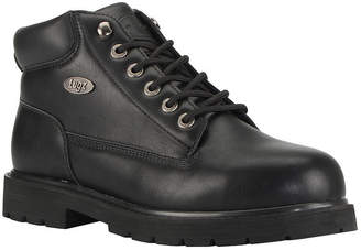Lugz Mens Drifter Mid Steel Toe Water Resistant Slip Resistant Steel Toe Work Boots