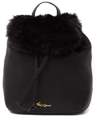 Foley + Corinna City Blooms Faux Fur Backpack