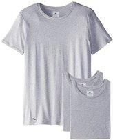 Lacoste Men's Essentials Cotton Crew-Neck T-Shirt (Pack of Three)