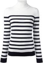 DSQUARED2 stripe roll-neck top - women - Wool - M