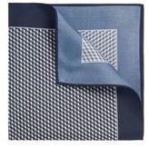 Hugo Boss Pocket sq. cm 33x 33 Silk Patterned Pocket Square One Size Grey