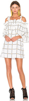 Shona Joy Chateau Frill Mini Dress