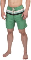 Specially made Striped Boardshorts - 3-Pocket (For Men)