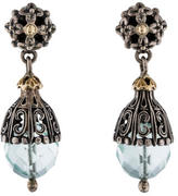 Konstantino Aquamarine Drop Earrings