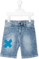 Little Marc Jacobs printed denim shorts