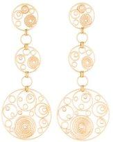 Roberto Coin 18K Diamond Mauresque Earrings