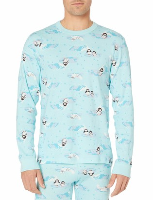 Moon And Back By Hanna Andersson Moon and Back Unisex-Adult's Standard Long Sleeve Pajama Top