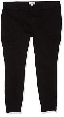 Dorothy Perkins Women's Darcy - Regular Length Skinny Jeans, (Black 010), (Size:)