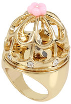 Betsey Johnson Marie Antoinette Bird Cage Ring