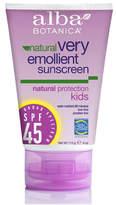 Alba Kid's Sunscreen SPF45 by 4oz Cream)