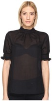 McQ by Alexander McQueen Fluid Trim Blouse Women's Blouse