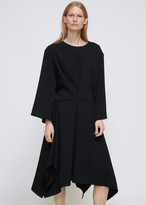 Dusan Black Easy Square Dress