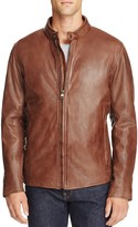 Andrew Marc Rhinecliff Leather Moto Jacket