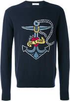 Valentino nautical jumper