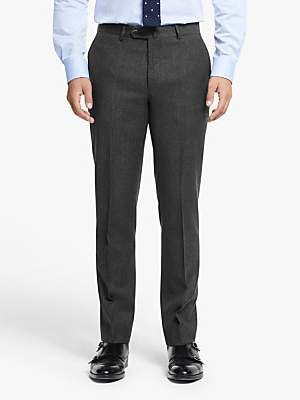 Hackett London Chelsea Tailored Fit Suit Trousers, Dark Grey