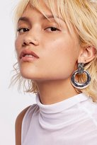Free People Laura Rose Knocker Hoops