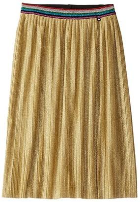 Molo Bailini Skirt (Little Kids/Big Kids) (Silver) Girl's Skirt