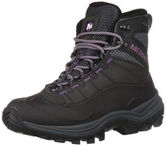 Merrell Women's Thermo Chill Mid Shell Waterproof Snow Boots, Black, 4 (37 EU)