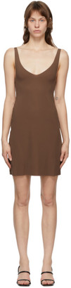 Wolford Brown Pure Tank Top Dress