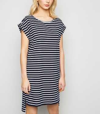 New Look Stripe T-Shirt Dress