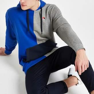 River Island Jack and Jones blue colour block hoodie